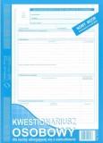 Kwestionariusz osobowy wzór A dla osoby ubiegającej się o zatrudnienie - 40 kart