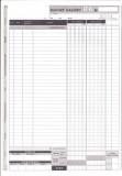 Raport kasowy - większy A4 - blok 80 kopii