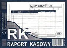 Raport kasowy - mniejszy A5 - blok 80 kopii