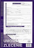 Umowa-zlecenie - papier samokopiujący - blok 40 kopii