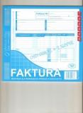 Faktura VAT nabywca/odbiorca, blok samokopiujący blok 80 kartek 2/3 A4