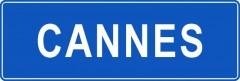 Tabliczki z nazwami miejsc i miejscowości (Cannes 1)