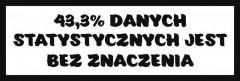 Śmieszne tabliczki refleksyjne (Dane statystyczne)