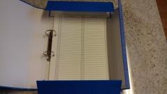 Księga arkuszy ocen - twarda oprawa - wąski grzbiet - 3,5 cm, zatrzaski