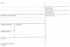 Karta akcesyjna kwartalnika B-116