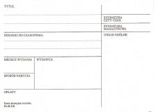 Karta akcesyjna rocznika B-118