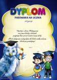 Dyplom pasowania na ucznia z treścią DE102T