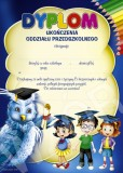 Dyplom ukończenia oddziału przedszkolnego (z treścią) DP75T