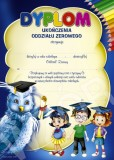 Dyplom ukończenia oddziału zerowego (z treścią) DP76T