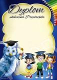 Dyplom ukończenia przedszkola DP77
