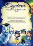 Dyplom ukończenia przedszkola (z treścią) DP77T