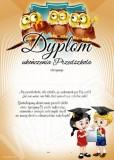 Dyplom ukończenia przedszkola (z treścią) DP86T