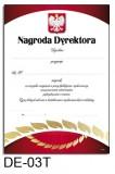 Nagroda dyrektora DE-03T z liniami pomocniczymi