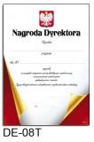 Nagroda dyrektora DE-08T z liniami pomocniczymi