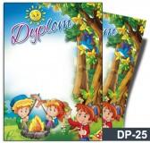 Dyplom dla dzieci (bez treści) DP-25