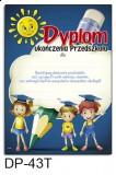 Dyplom ukończenia przedszkola (z treścią) DP-43T