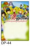 Dyplom ukończenia przedszkola DP-44