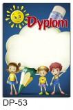 Dyplom dla dzieci (bez treści) DP-53