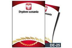 Dyplom uznania DE-25