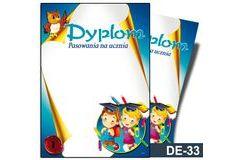 Dyplom pasowania na ucznia DE-33