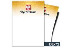 Wyróżnienie DE-72