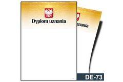 Dyplom uznania DE-73