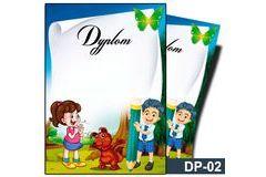 Dyplom dla dzieci (bez treści) DP-02