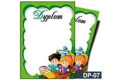 Dyplom dla dzieci (bez treści) DP-07