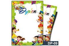 Dyplom dla dzieci (bez treści) DP-09