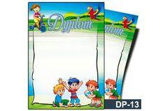 Dyplom dla dzieci (bez treści) DP-13