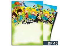 Dyplom dla dzieci (bez treści) DP-15
