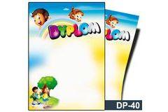 Dyplom dla dzieci (bez treści) DP-40