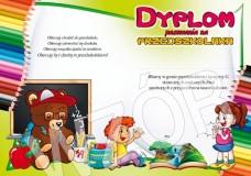 Dyplom pasowania na przedszkolaka DS07
