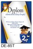 Dyplom ukończenia klasy 2 (treść) DE-85T