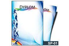 Dyplom sportowy SP-01