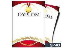 Dyplom sportowy SP-03