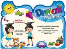 Dyplom Super Przedszkolaka DS-55