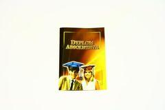 Dyplom absolwenta 3-kartkowy wzór 2