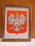 Godło państwowe Polski - oprawione