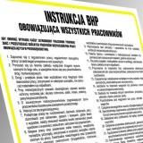 Instrukcja BHP - instrukcja mycia i dezynfekcji rąk