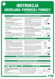 Tablica - Instrukcja udzielania pierwszej pomocy