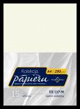 Karton ozdobny do druku dyplomów - kolor perła szampańska