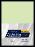 Karton ozdobny do druku dyplomów - kolor zielonkawy - deseń marmurowy