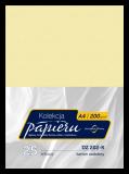Karton ozdobny do druku dyplomów - kolor piaskowy - deseń marmurowy