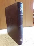 Złota Księga B4 pionowa, oprawa skóra tłoczona + okute narożniki
