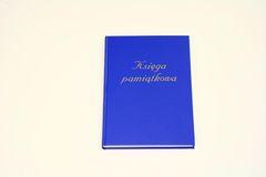 Księga pamiątkowa - A4 pion
