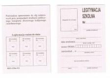Legitymacja szkolna dla uczniów niepełnosprawnych - nowy wzór MEN- I/50a-N/2