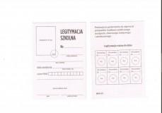 Legitymacja szkolna dla uczniów MEN I/1 - nowy wzór!!!