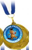 Medal - Pamiątka Ukończenia Przedszkola (wzór 3)