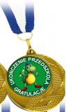 Medal - Pamiątka Ukończenia Przedszkola (wzór 4)